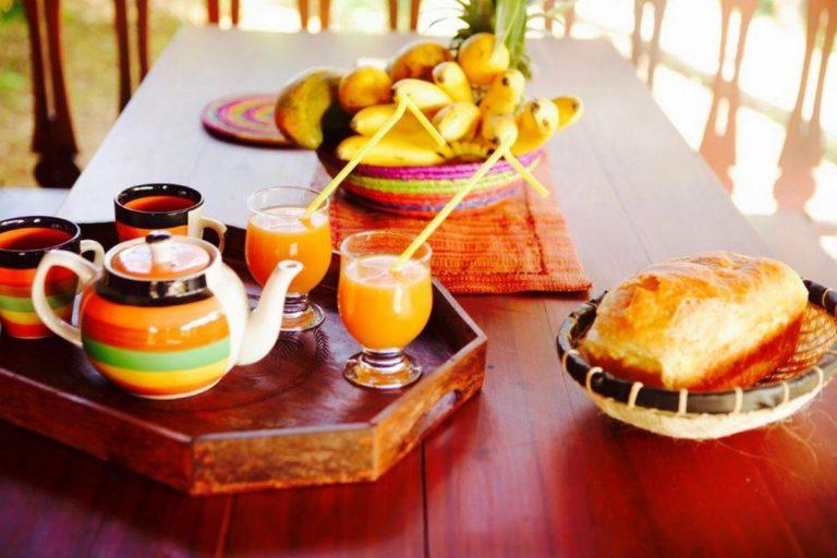 hotel breakfast ambatoloaka nosy be
