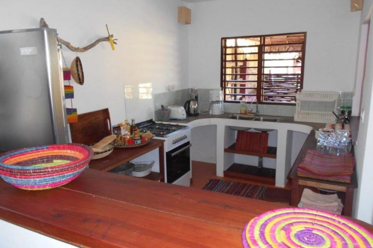 Kitchen big house for rent in nosy be